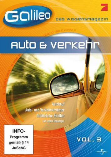 Galileo - Das Wissensmagazin Vol. 3: Auto & Verkehr -- via Amazon Partnerprogramm