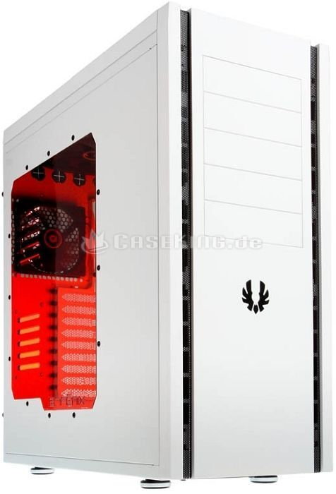 BitFenix Shinobi XL white with side panel window (BFC-SNX-500-WWW1-RP) -- © caseking.de