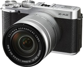 Fujifilm X-A2 schwarz mit Objektiv XC 16-50mm 3.5-5.6 OIS II