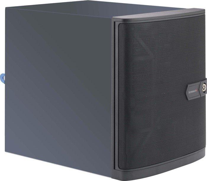 Supermicro SuperChassis 721TQ-250B, 250W Bronze FlexATX, Mini-ITX (CSE-721TQ-250B)