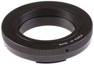 Samyang T2 lens adapter (various types)