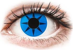 Colourvue CrazyLens Farblinse Blue Star, 2er-Pack