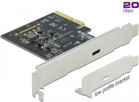 DeLOCK 1x USB-C 3.2, PCIe 3.0 x4 (89036)