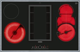 Siemens iQ300 ET845FM11E Glaskeramik-Kochfeld Autark mit Kochfeldabzug