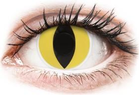 Colourvue CrazyLens Farblinse Cat's Eye, 2er-Pack