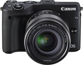 Canon EOS M3 schwarz mit Objektiv EF-M 15-45mm 3.5-6.3 IS STM (9694B233)