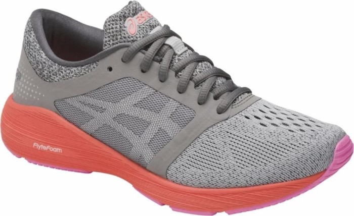 Asics Roadhawk FF Schuhe Frauen - Gedämpfte Laufschuhe Black/Silver/White UK 6 OBNBUM
