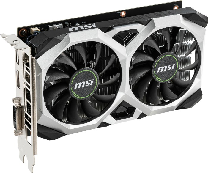 MSI GeForce GTX 1650 Ventus XS 4G, 4GB GDDR5, DVI, HDMI, DP