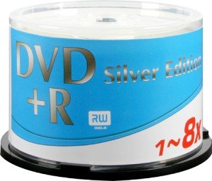Ricoh DVD+R 4.7GB 8x, 50-pack Spindle Silver Edition (790282)