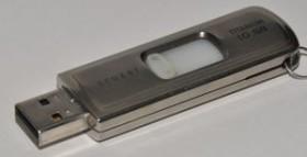 SanDisk Cruzer Titanium U3 1GB, USB-A 2.0 (SDCZ7-1024-E10)