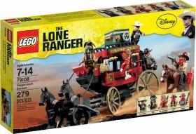 LEGO The Lone Ranger - Flucht mit der Postkutsche (79108)