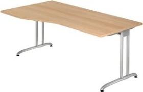 Hammerbacher Ergonomic B-Serie BS18/E, Eiche, Schreibtisch