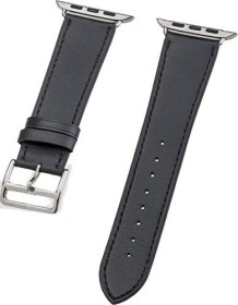 Peter Jäckel Watch Band Leather für Apple Watch (42mm/44mm) schwarz (17260)