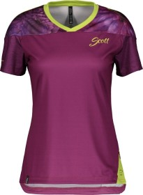 Scott Trail Flow Trikot kurzarm ultra violet/sharp green (Damen) (270538-6202)