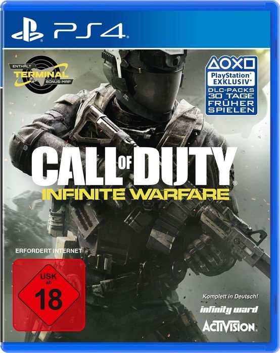 Call of Duty: Infinite Warfare (deutsch) (PS4)