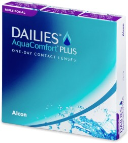 Alcon Dailies AquaComfort Plus Multifocal, -10.00 Dioptrien, 90er-Pack