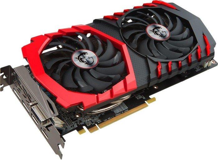 MSI Radeon RX 470 Gaming X 4G, 4GB GDDR5, DVI, 2x HDMI, 2x DisplayPort (V341-002R)