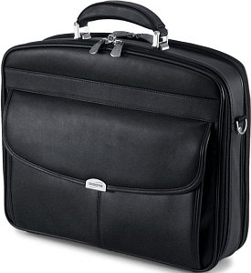 "Dicota MultiLeather 15"" carrying case black (N4518L)"