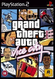 Grand Theft Auto (GTA): Vice City (niemiecki) (PS2)
