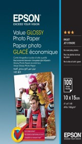 Epson S400039 Value Glossy photo paper 10x15, 183g/m², 100 sheets (C13S400039)