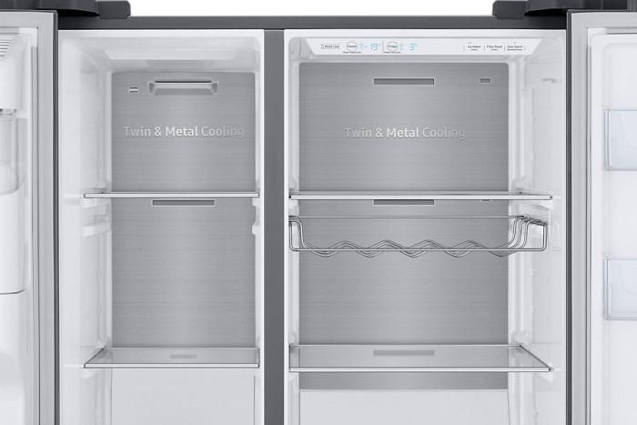 Amerikanischer Kühlschrank Crushed Ice : Side by side kühlschrank auf rechnung raten kaufen