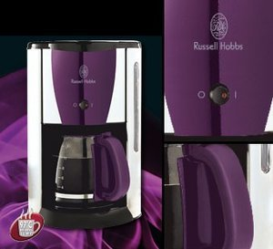 Russell Hobbs Colours Purple Passion ekspres do kawy (15068-56)