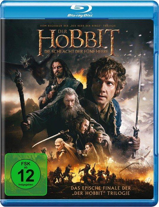 Der Hobbit Die Schlacht Der Fünf Heere Blu Ray Ab 983 2019