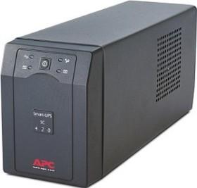APC Smart-UPS SC 420VA, serial (SC420I)
