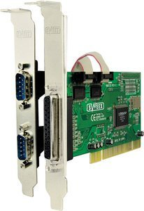 Sweex PU007, 1x parallel/2x serial, PCI