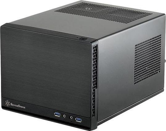 SilverStone Sugo SG13B-Q schwarz, Mini-ITX (SST-SG13B-Q/12050)