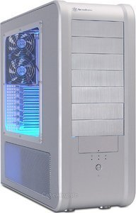 SilverStone Temjin TJ07 USB 2.0 silver with side panel window (SST-TJ07S-W) -- © caseking.de