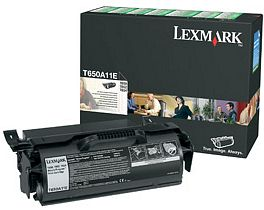 Lexmark Return Toner T650A11E schwarz