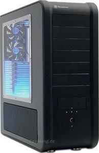 SilverStone Temjin TJ07 USB 2.0 schwarz, Acrylfenster (SST-TJ07B-W) -- © caseking.de