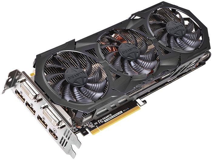 Gigabyte GeForce GTX 980 G1 Gaming, 4GB GDDR5, 2x DVI, HDMI, 3x DisplayPort (GV-N980G1 GAMING-4GD)