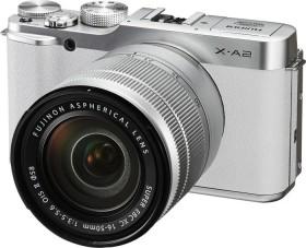 Fujifilm X-A2 weiß mit Objektiv XC 16-50mm 3.5-5.6 OIS II