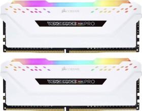 Corsair Vengeance RGB PRO weiß DIMM Kit 16GB, DDR4-3200, CL16-18-18-36 (CMW16GX4M2C3200C16W)