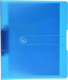 Herlitz easy orga to go Ringhefter A4, 25mm, blau transparent (11205762)