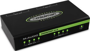 M-audio MIDISport 4x4 Anniversary Edition MIDI Interface, USB