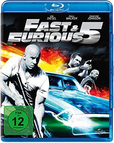 Fast & Furious Five (Blu-ray) -- via Amazon Partnerprogramm