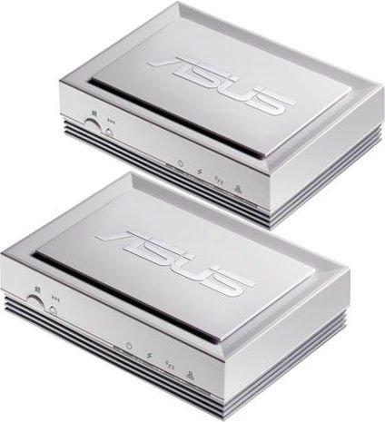 ASUS PL-X32 Adapter Kit, HomePlug AV, RJ-45, 2er-Pack