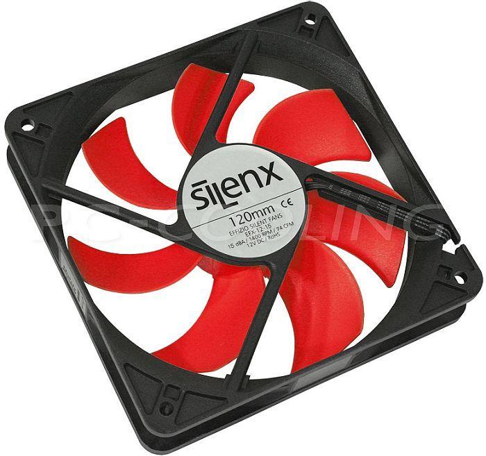 SilenX Effizio Quiet Fan Series, 120mm, 1400rpm (EFX-12-15) -- © pc-cooling.de