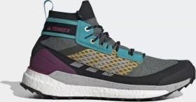 adidas Terrex Free Hiker legend earth/grey two/signal cyan (Herren) (FV6818)