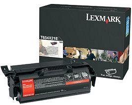 Lexmark Toner T654X21E schwarz extra hohe Kapazität