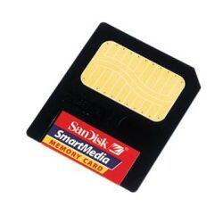 SanDisk SmartMedia Card (SM) 128MB (SDSM-128) -- © SanDisk