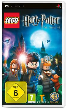 LEGO Harry Potter - Years 1-4 (englisch) (PSP)