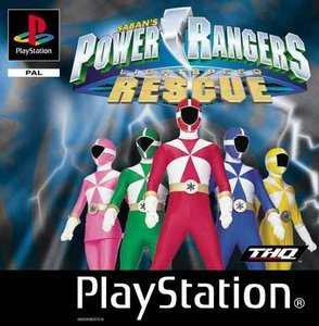 Power Rangers Lightspeed Rescue (PS1)