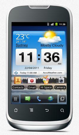 Huawei U8650 Sonic white
