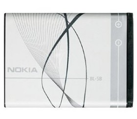 Nokia BL-5B rechargeable battery (0278809)