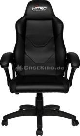 Nitro Concepts C100 Gamingstuhl, schwarz (NC-C100-B)