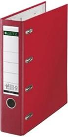Leitz Plastik-Doppelordner 75mm, rot (10120025)